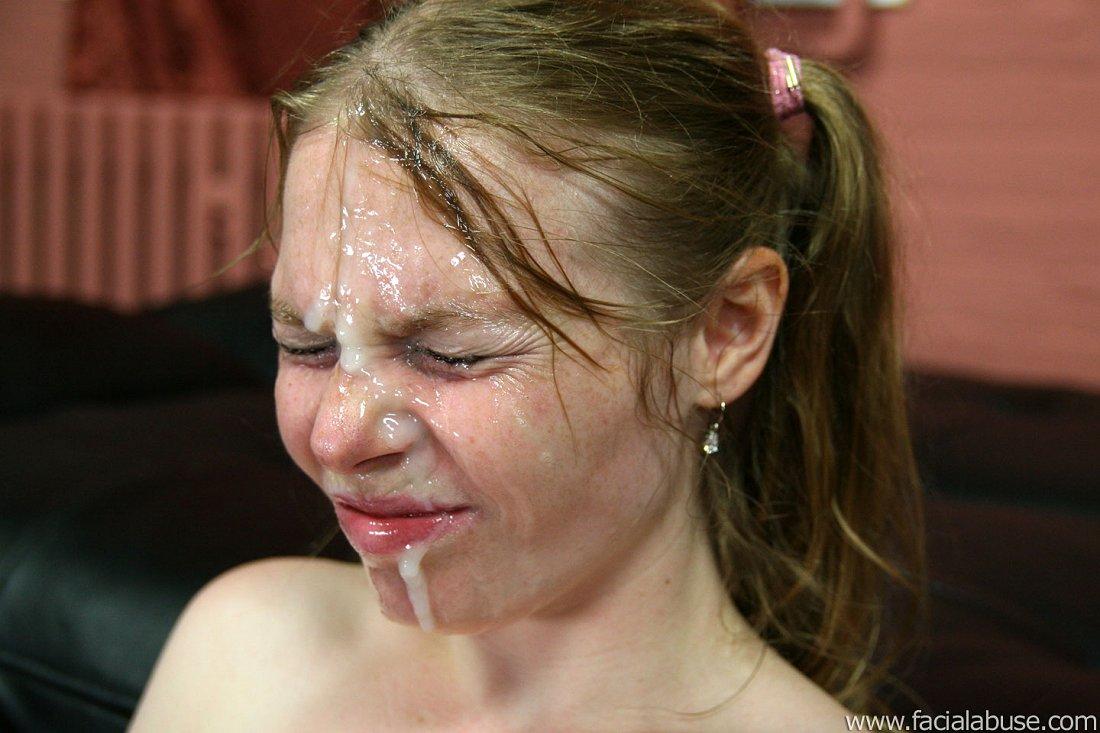 Face Abuse Cum Facial