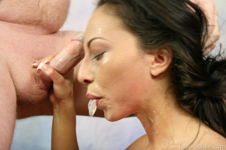 Veronica jett enorme facial